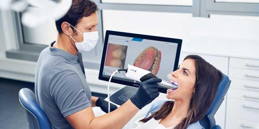 CAD-CAM dentist
